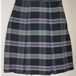 Skirts-Knife Pleat 25 Plaid