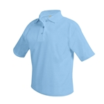 Polos - Light Blue- embroidered